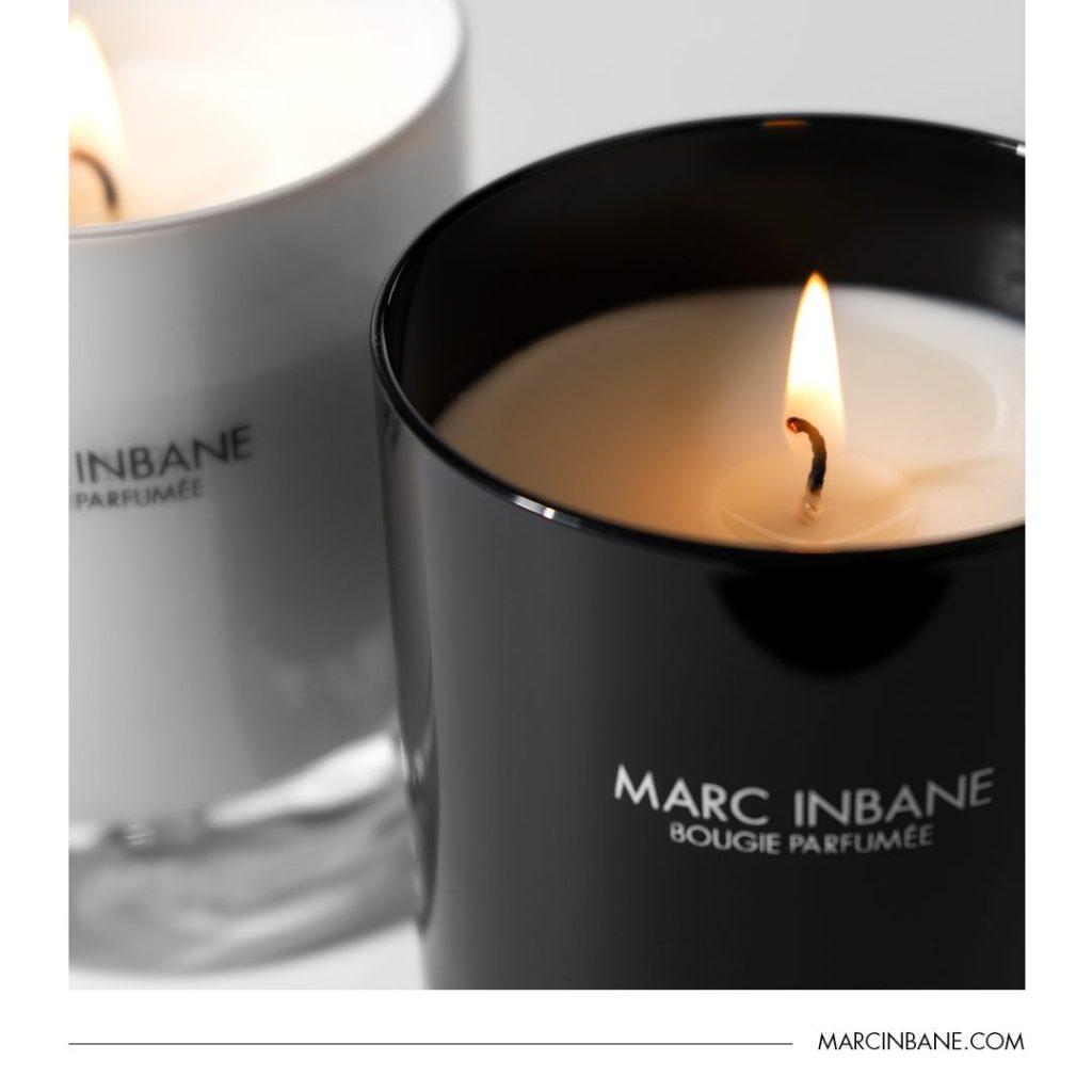 Vonné svíčky Marc Inbane.