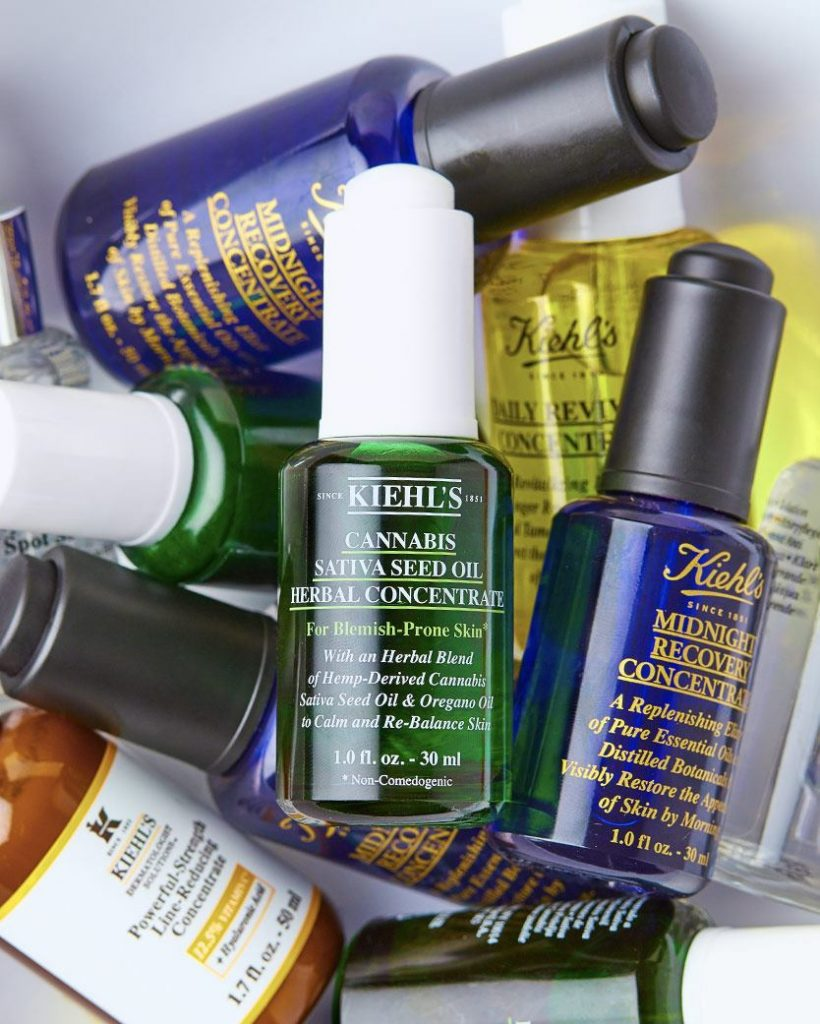 Produkty Kiehls obsahují vysokou koncentraci přírodních látek, bylin a květin.