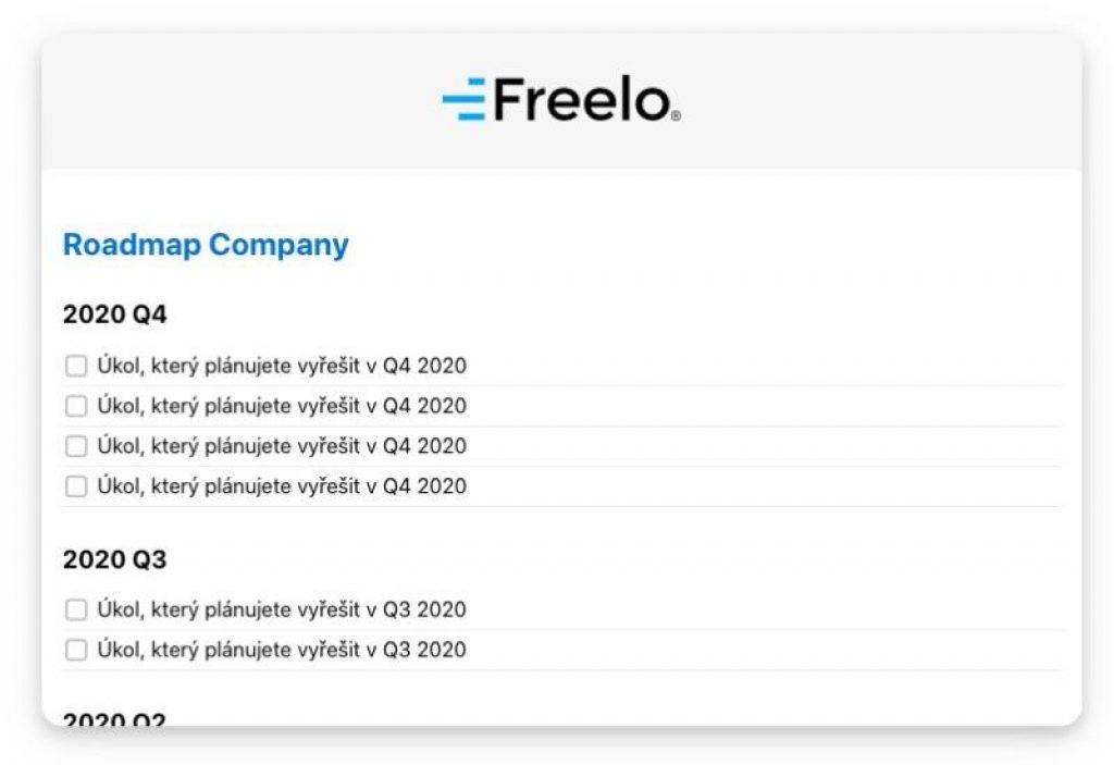 S Freelo si můžete naplánovat projekty na celý rok.
