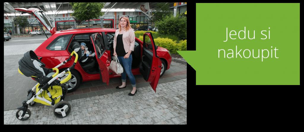 První český carsharing Auto Napůl